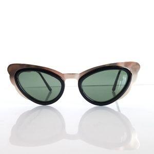 Apex Gold Cat Eye Sunglasses